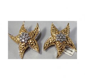 Earclips with Diamonds