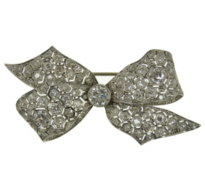 Diamond-Brooch around 1910