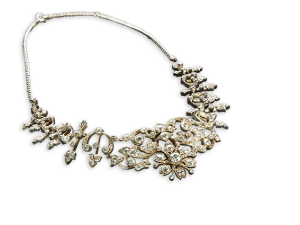Diamond Neklace 19th Century