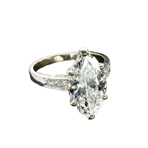 Marquise Diamond Ring 4.60 ct.