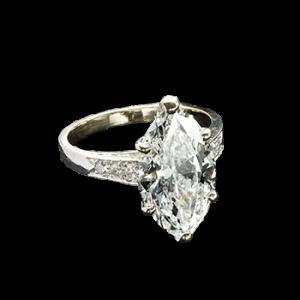 Marquise Diamond Ring 4.60 ct.