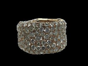 Diamond Ring in Yellowgold