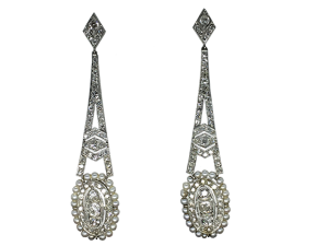 Earrings around 1910