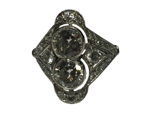 Edwadian Platinum Diamond Ring