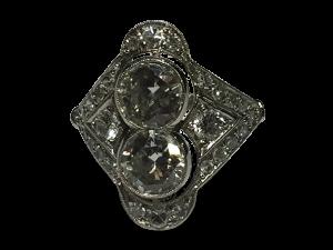 Edwadian Platinum Diamond Ring