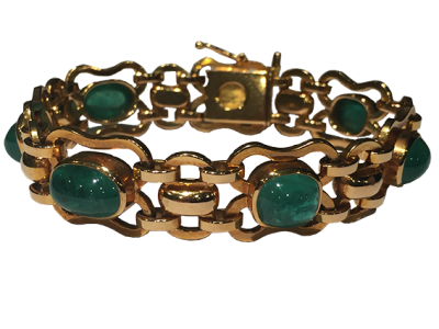Gübelin Bracelet Around 1950