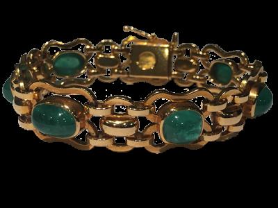 Gübelin Bracelet Around 1950