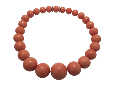 Important Coral Necklace